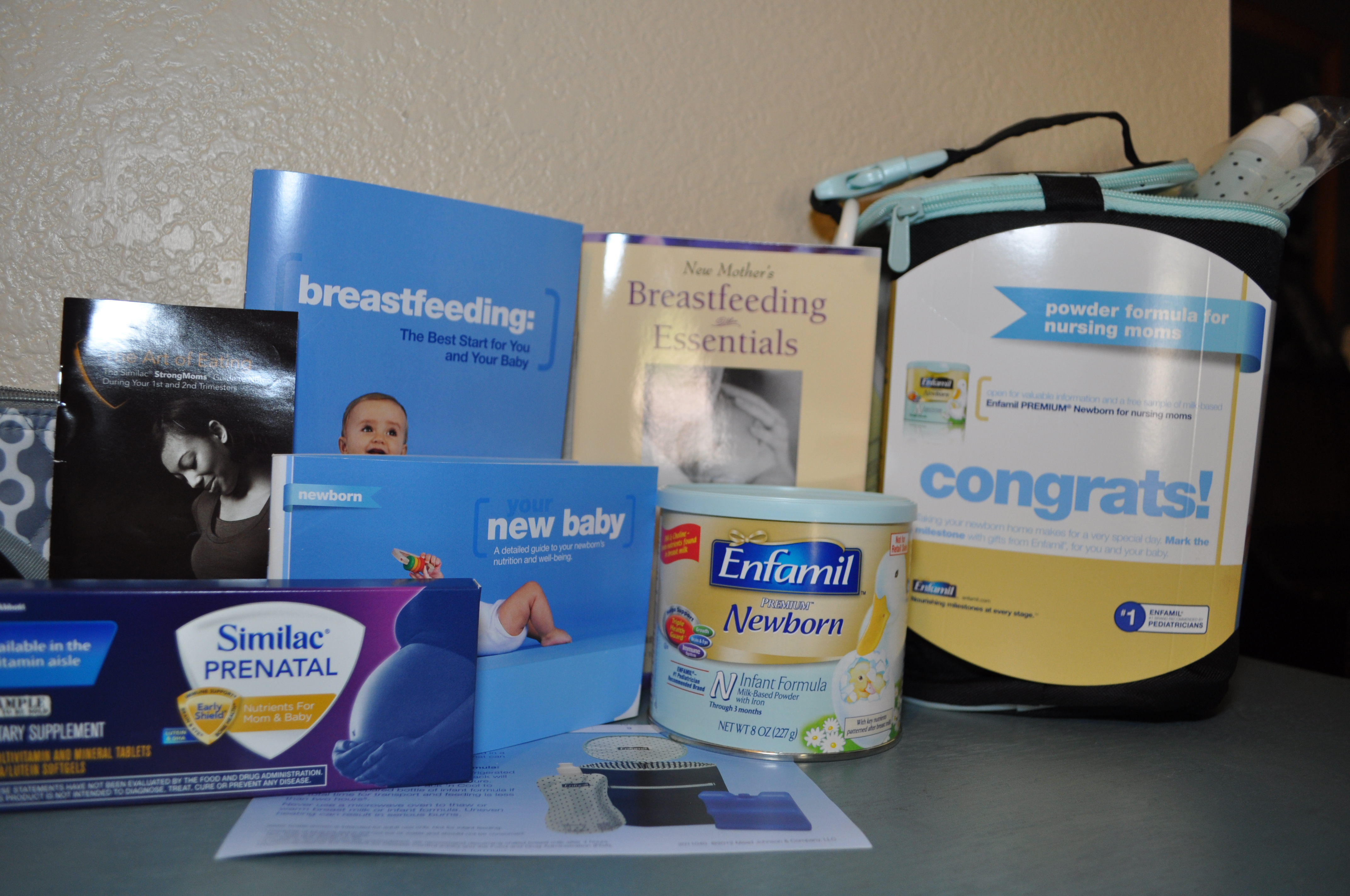 Breastmilk substitutes Jennie received during pregnancy
