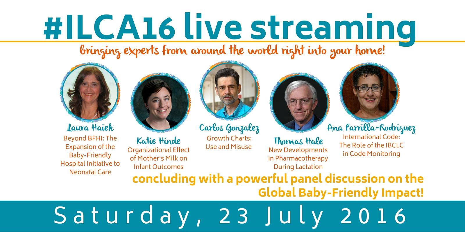 #ILCA16 live streaming
